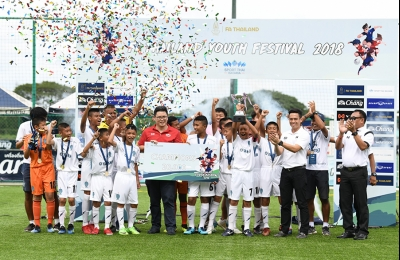Buriram U-12 crowned FA Thailand Youth Festival