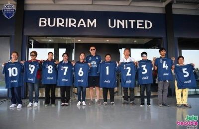 2017 DEC,22 BURIRAM UNITED NEW JERSEY KITS 2018