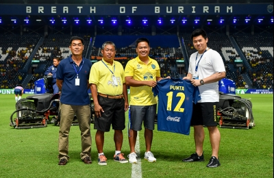 "Buriram seals new partnership ""Punta"""